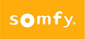 Logo de la marque Somfy